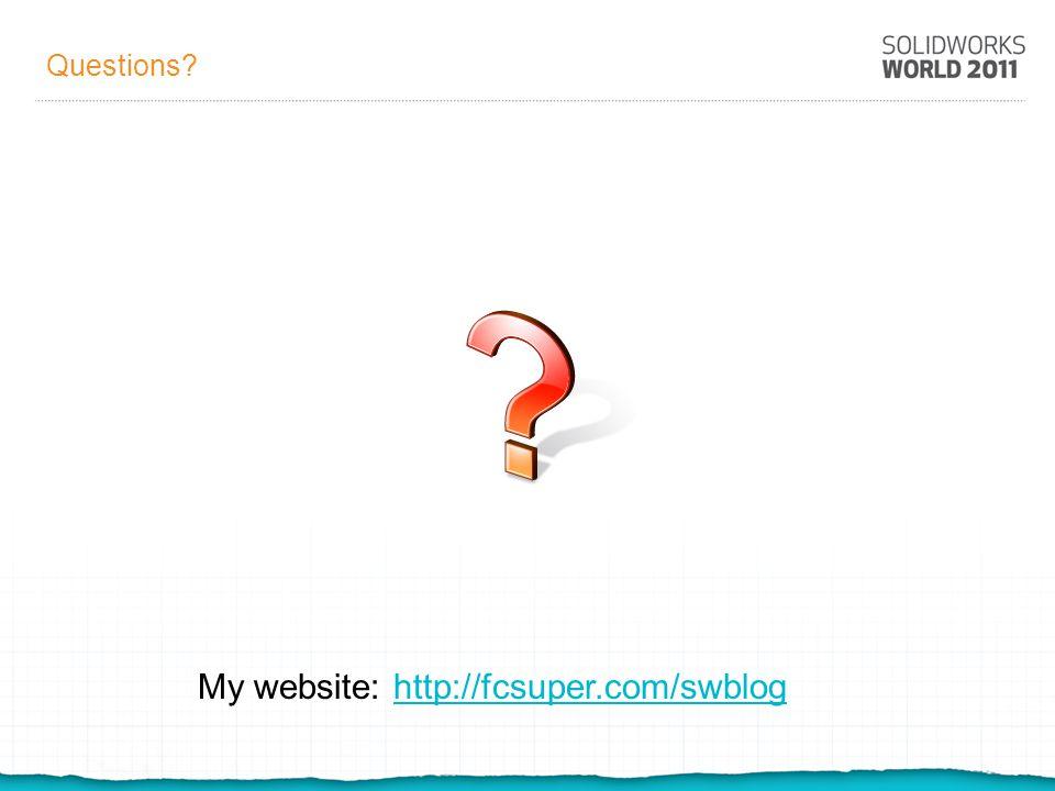 My website: http://fcsuper.com/swblog