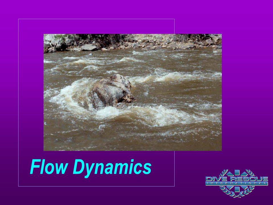Natural and manmade hydraulics create areas of entrapment. The