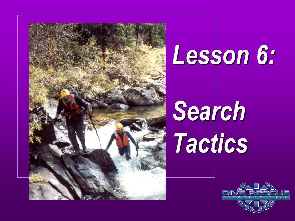 Lesson 6: Search Tactics
