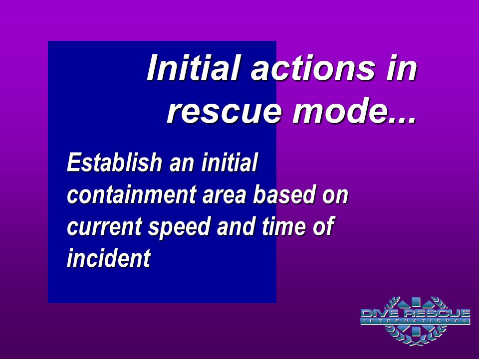 Initial actions in rescue mode...