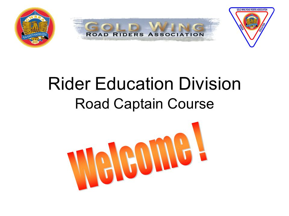 Rider Education Division Road Captain Course