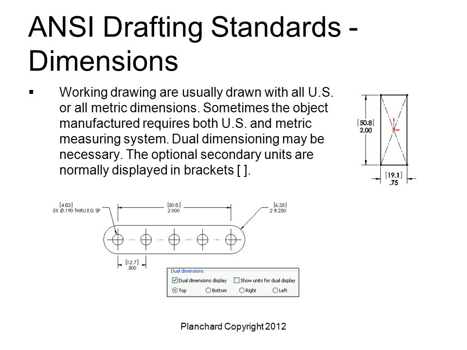 Drawing Lines To Nearest Mm : Drafting and dimensioning standards ppt video online