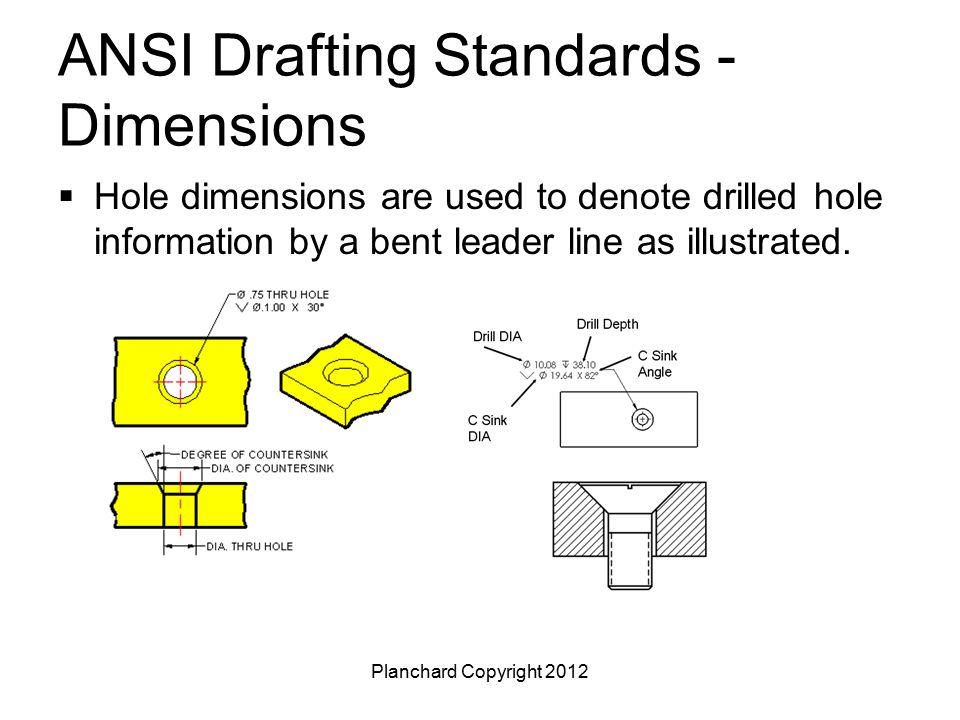 Ansi drafting standards free download for Standard blueprint size