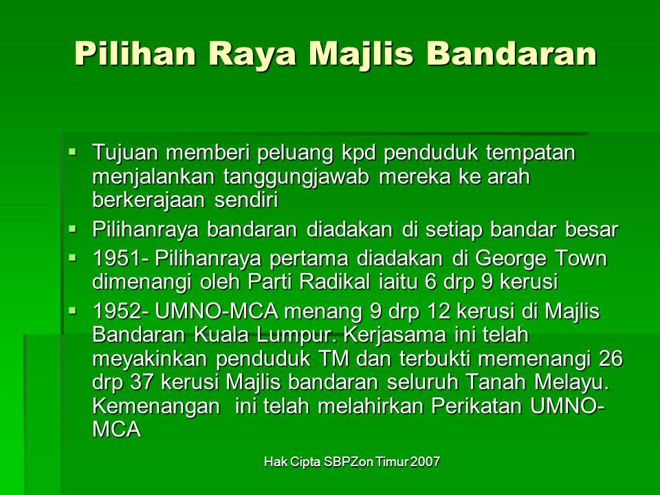 Pilihan Raya Majlis Bandaran