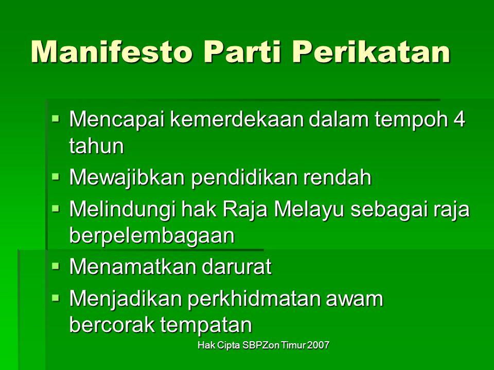 Manifesto Parti Perikatan