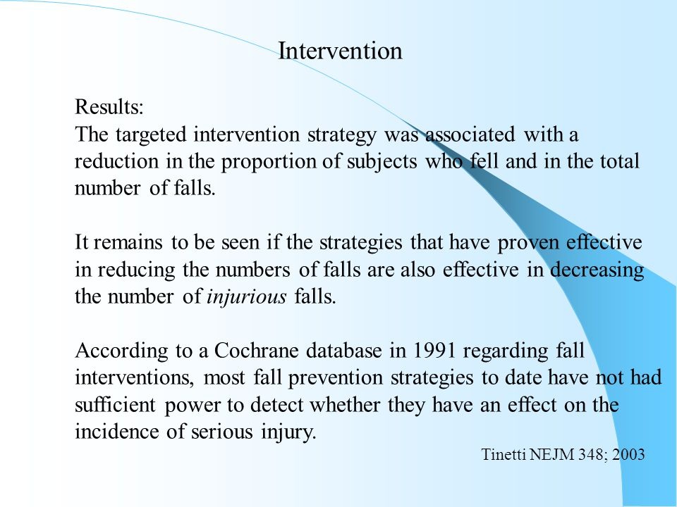 The targeted intervention strategy was associated with a