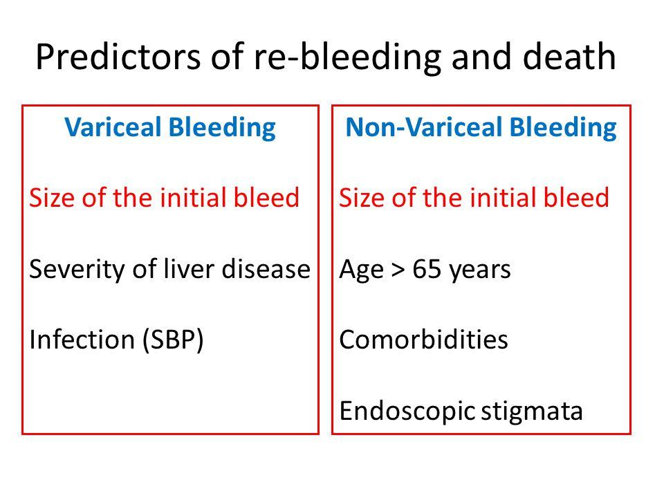Non-Variceal Bleeding