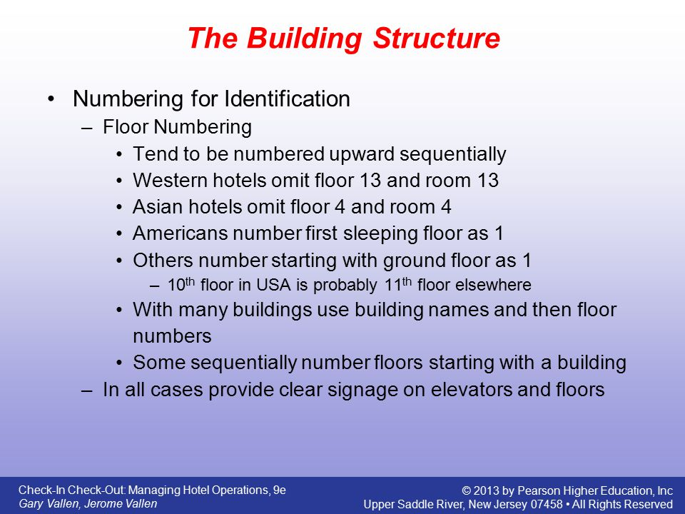 The Building Structure