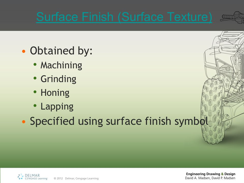 Surface Finish (Surface Texture)