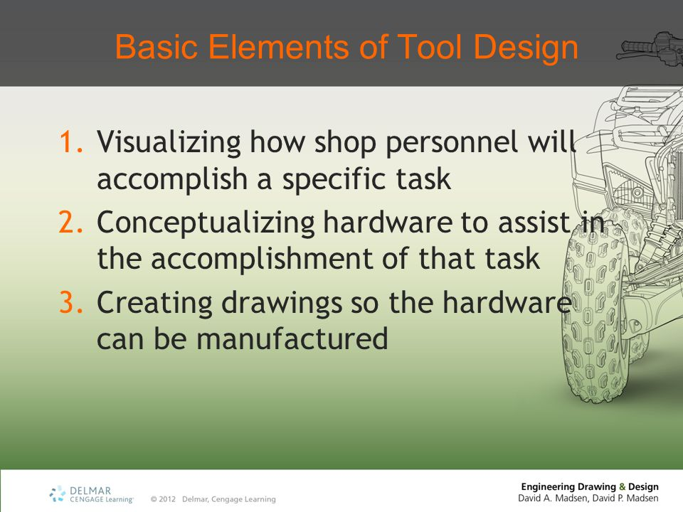 Basic Elements of Tool Design