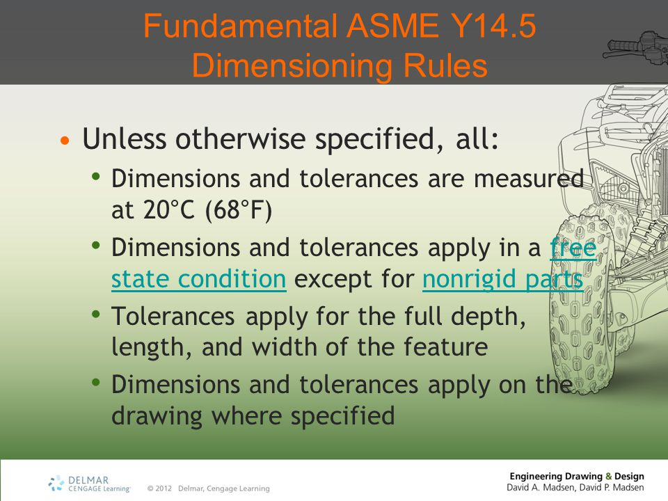 Fundamental ASME Y14.5 Dimensioning Rules