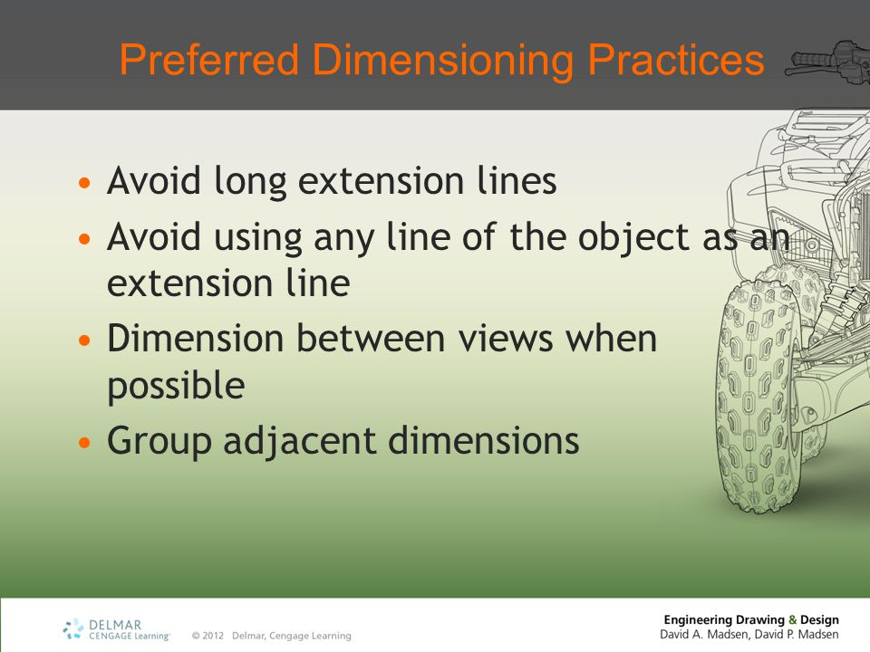 Preferred Dimensioning Practices