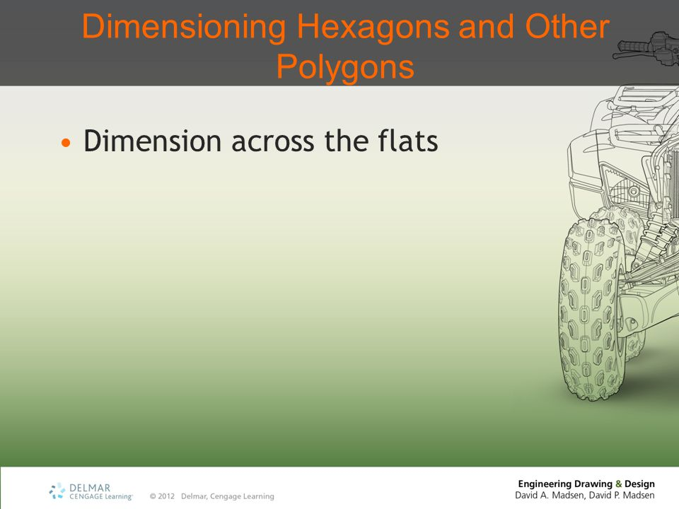 Dimensioning Hexagons and Other Polygons