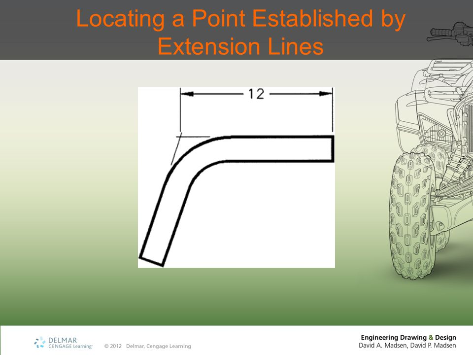 Locating a Point Established by Extension Lines