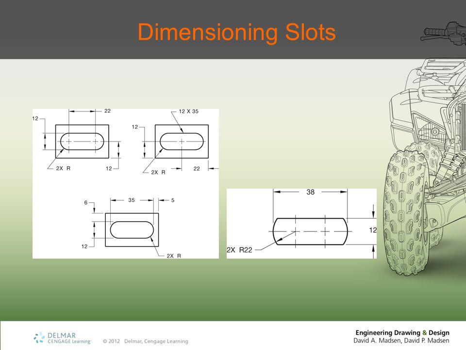 Dimensioning Slots
