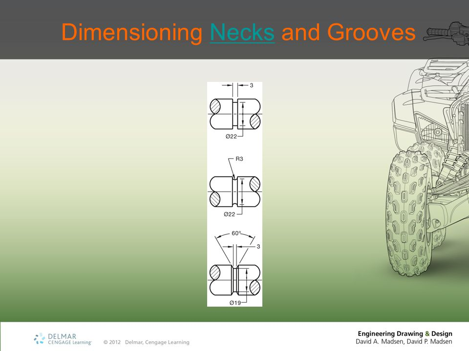 Dimensioning Necks and Grooves
