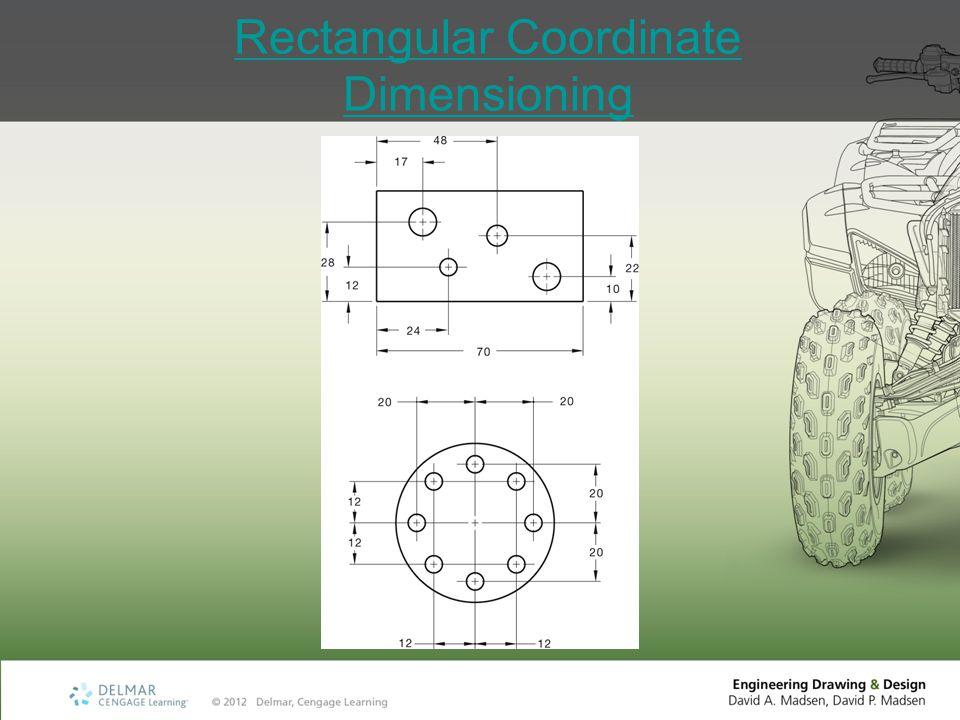 Rectangular Coordinate Dimensioning