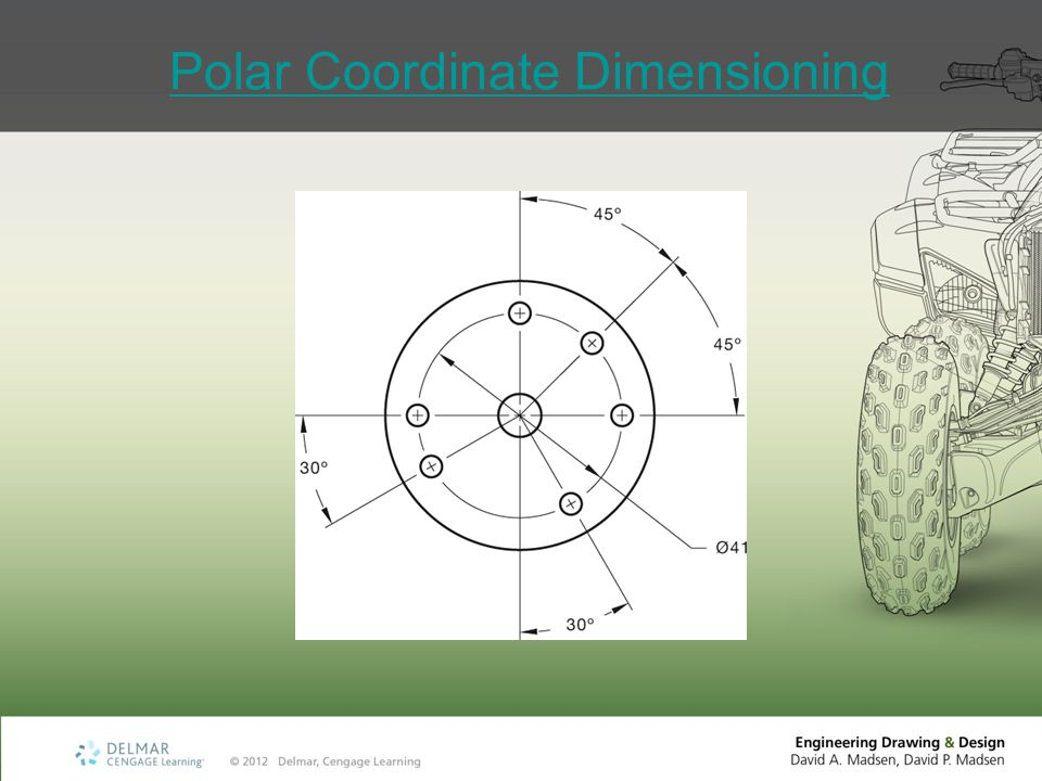 Polar Coordinate Dimensioning