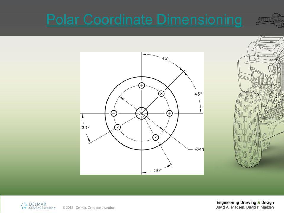 Polar Coordinate Dimensioning