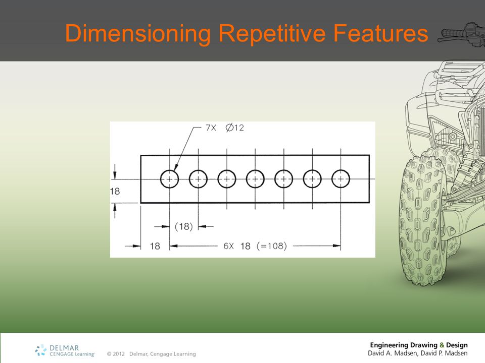 Dimensioning Repetitive Features