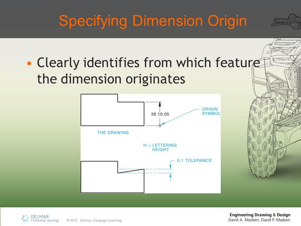 Specifying Dimension Origin