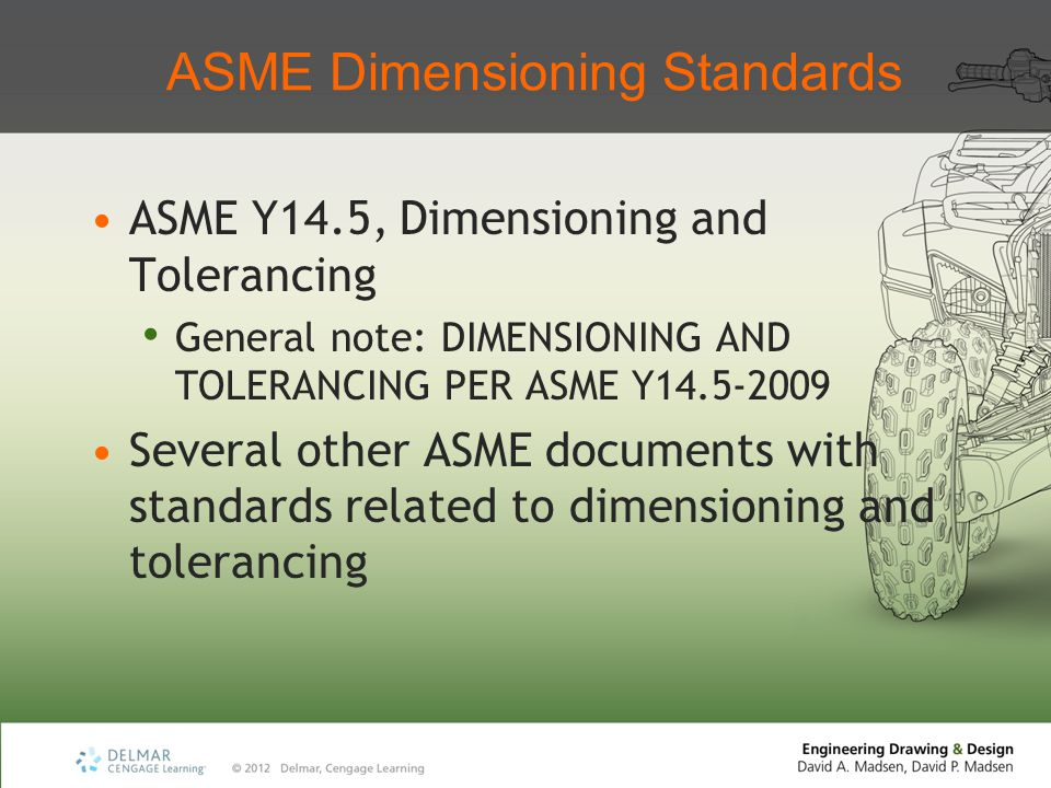 ASME Dimensioning Standards