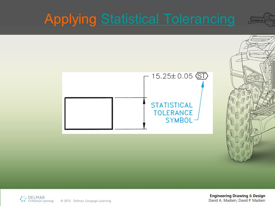 Applying Statistical Tolerancing