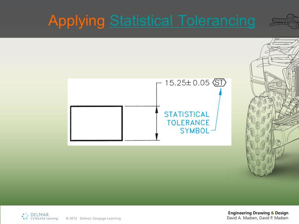 Applying Statistical Tolerancing