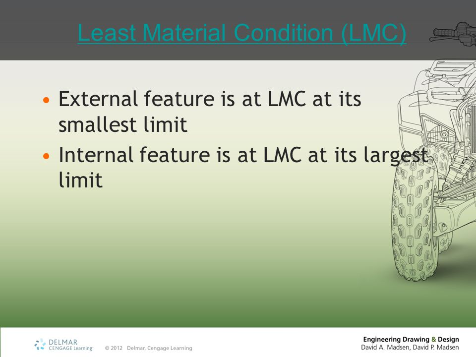Least Material Condition (LMC)