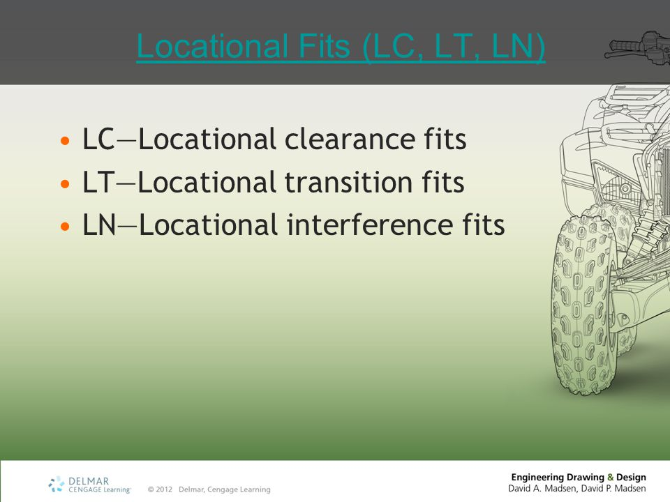 Locational Fits (LC, LT, LN)