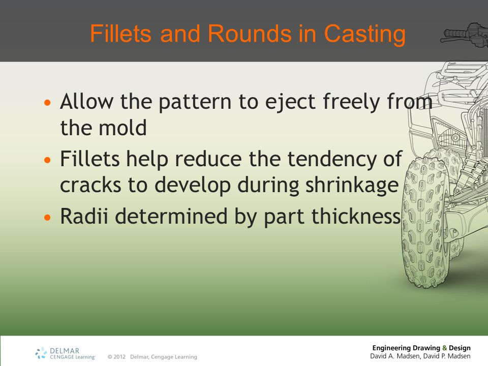 Fillets and Rounds in Casting