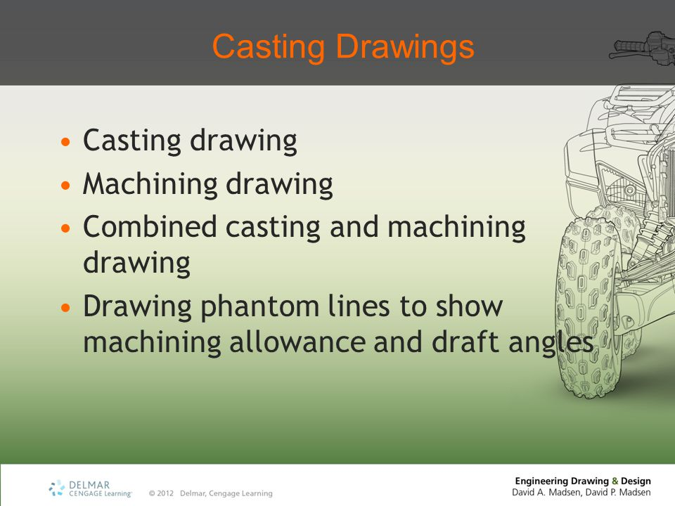 Casting Drawings Casting drawing Machining drawing