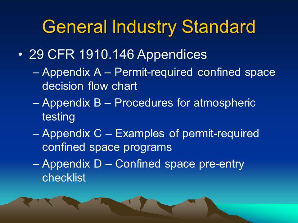 General Industry Standard