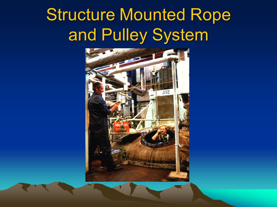 Structure Mounted Rope and Pulley System