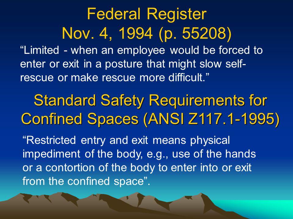 Federal Register Nov. 4, 1994 (p. 55208)