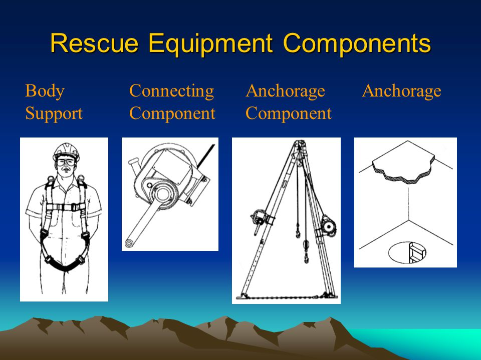 Rescue Equipment Components