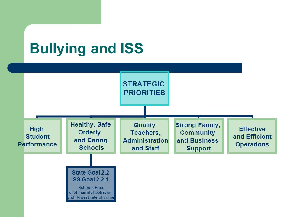 Bullying and ISS