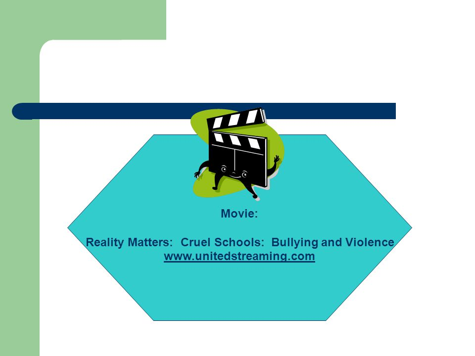Reality Matters: Cruel Schools: Bullying and Violence