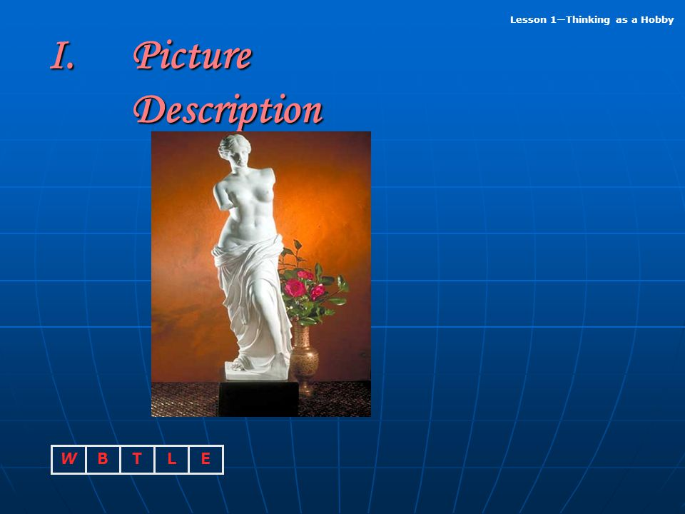 Picture Description