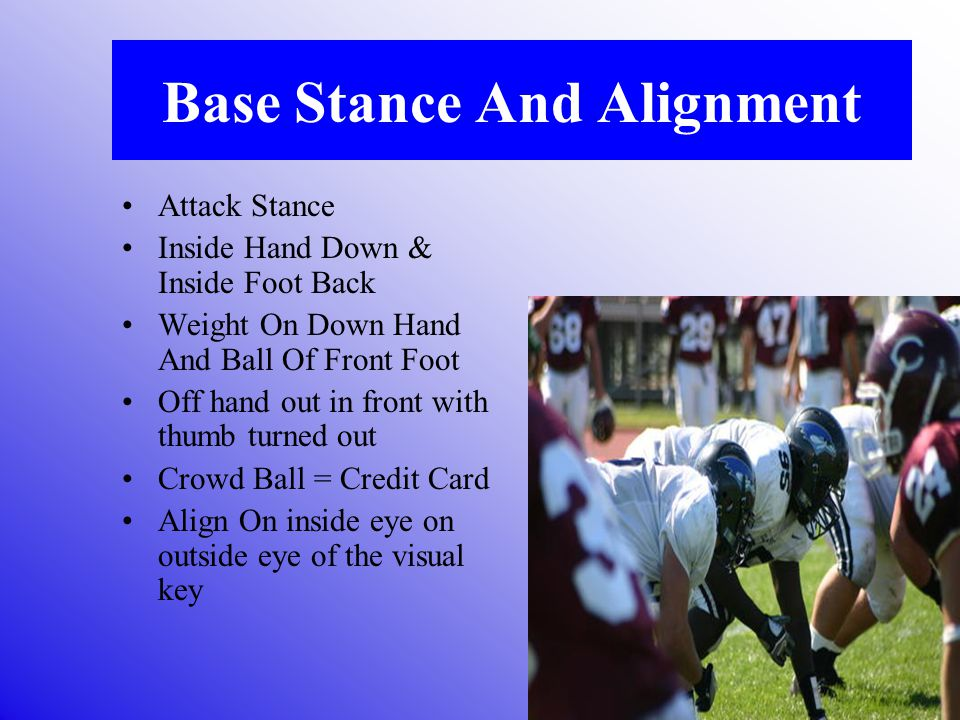 Base Stance And Alignment