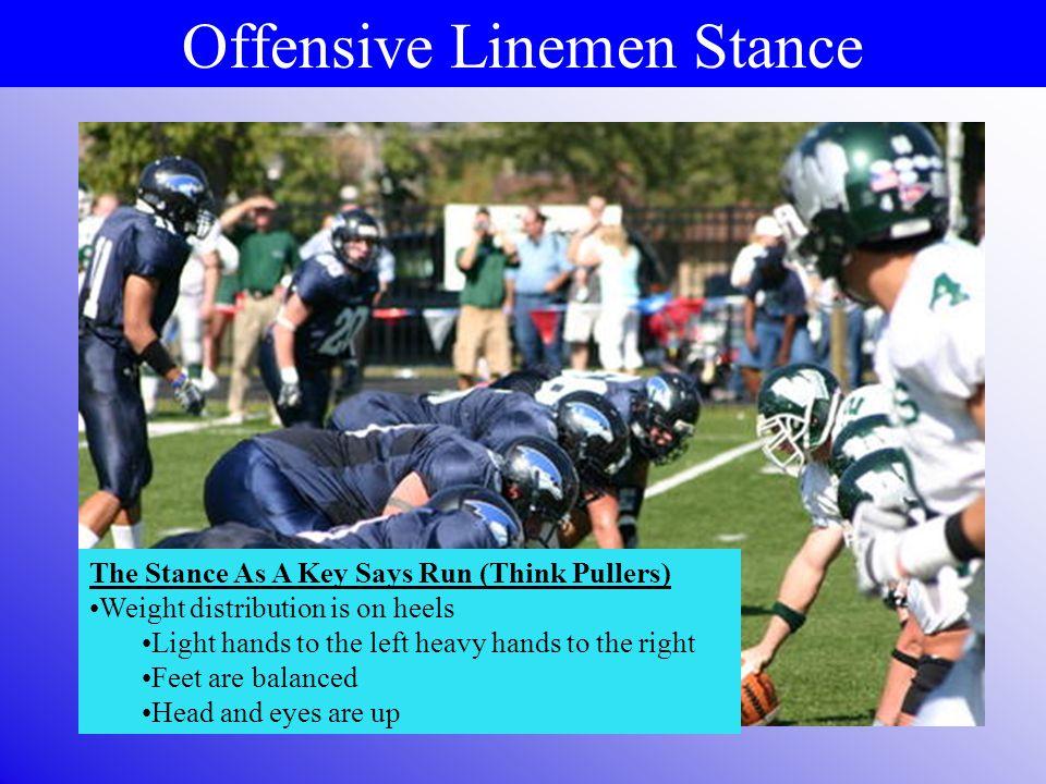Offensive Linemen Stance