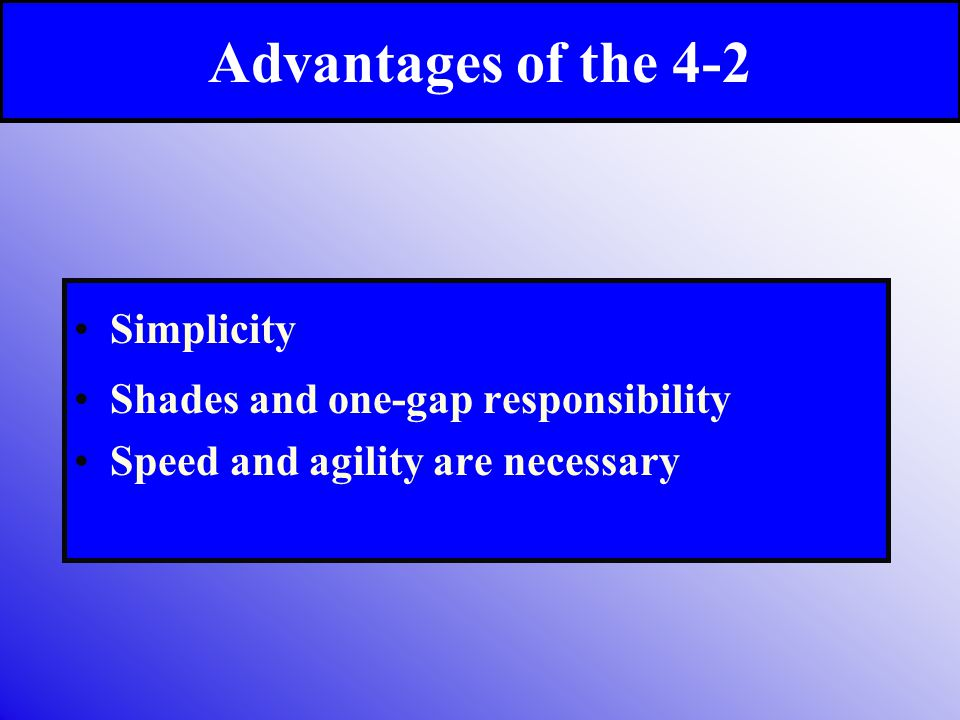 Advantages of the 4-2 Simplicity Shades and one-gap responsibility