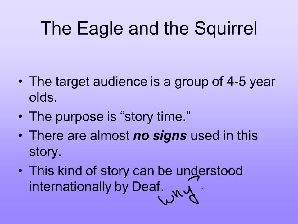 The Eagle and the Squirrel