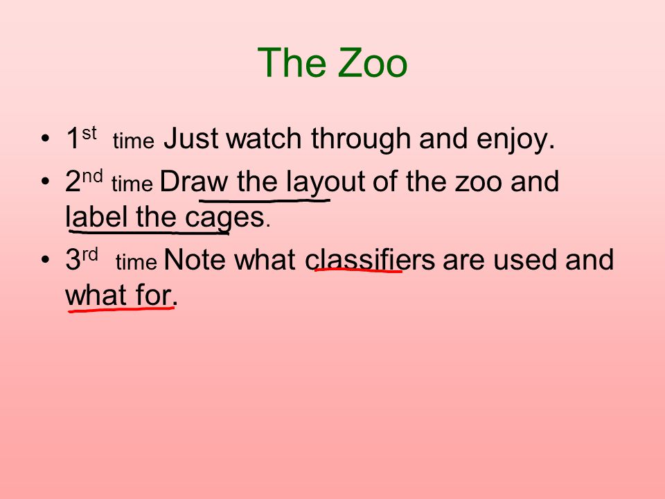 The Zoo 1st time Just watch through and enjoy.