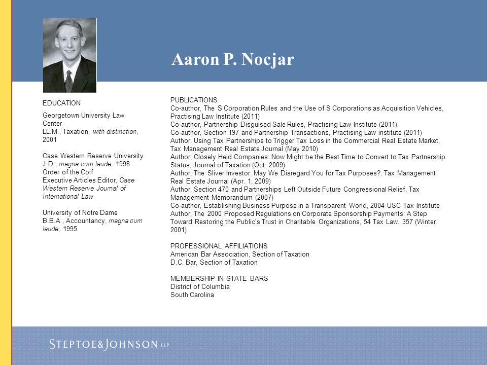 Aaron P. Nocjar