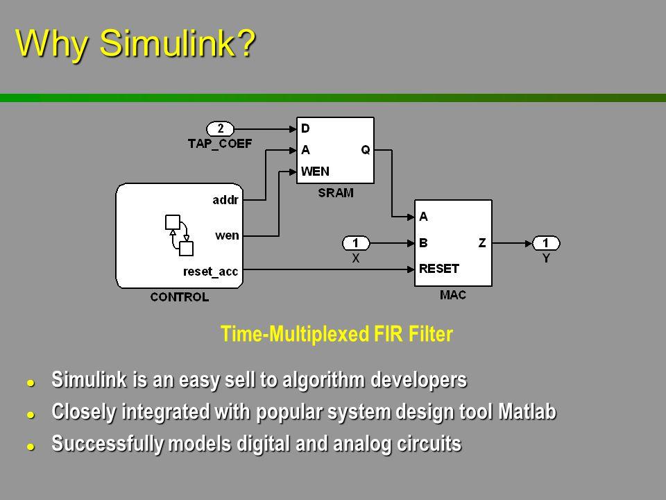 Time-Multiplexed FIR Filter