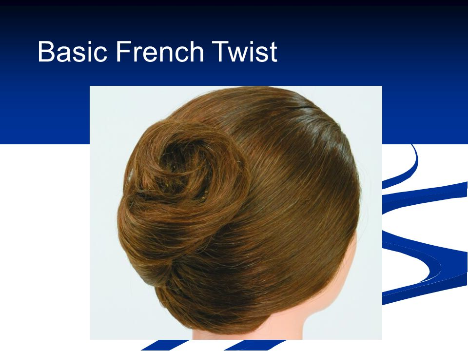Basic French Twist