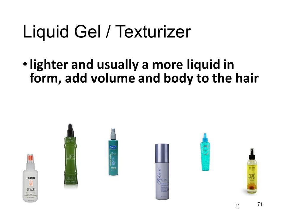 Liquid Gel / Texturizer