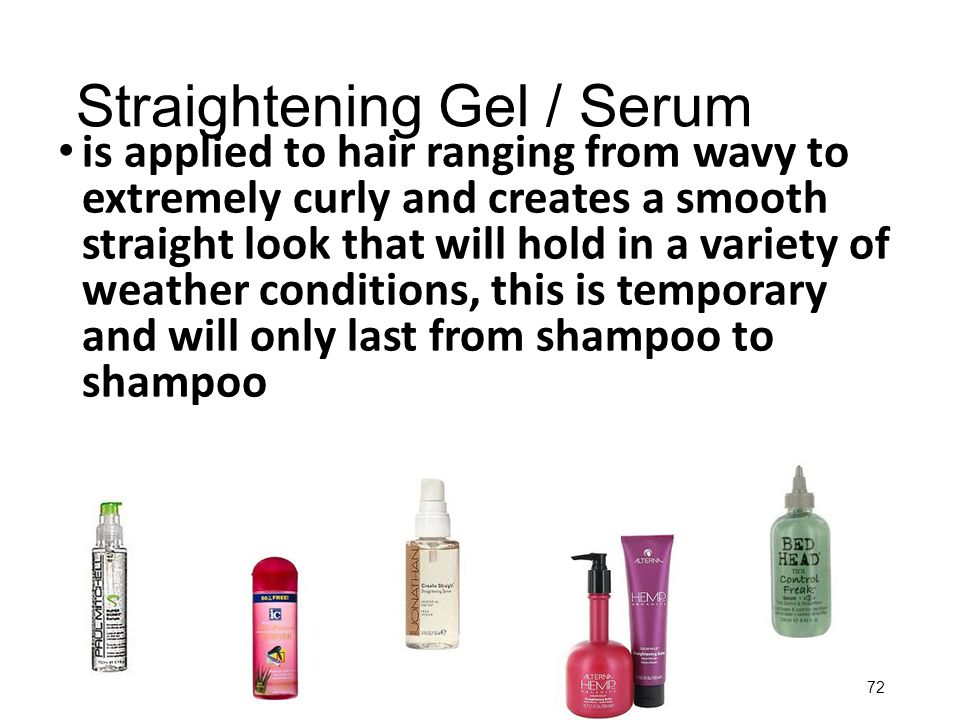 Straightening Gel / Serum