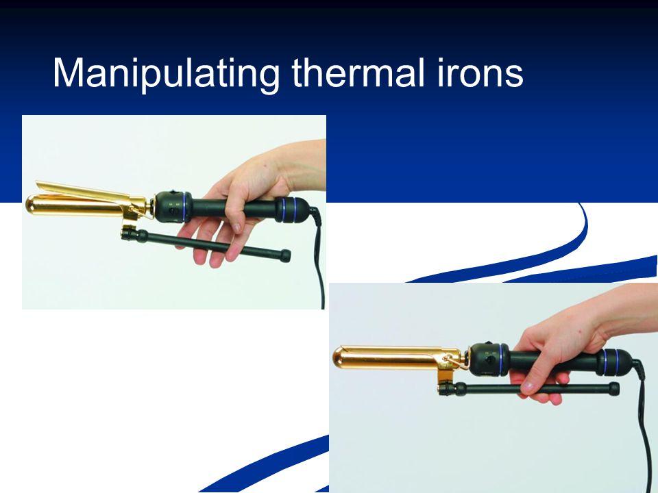 Manipulating thermal irons